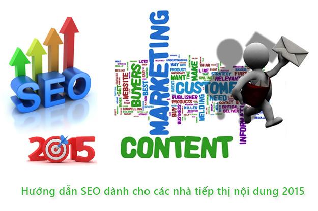 Hướng dẫn SEO dành cho các nhà tiếp thị nội dung 2015